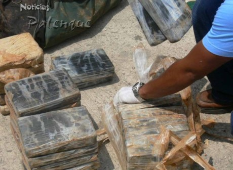 Se han asegurado 80 kilogramos de cocaina.