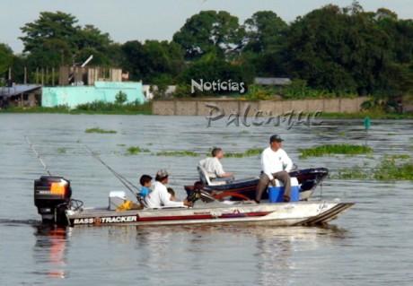 86 embarcaciones participaron en el Torneo de Pesca Deportiva.