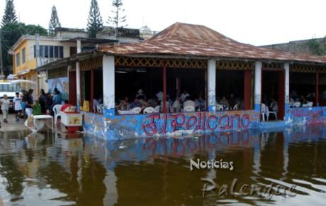 A pesar de las inundaciones, Catazajá vivió un ambiente festivo.