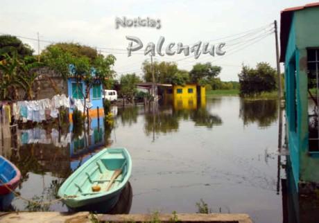 Catazaja el municipio más afectado de la zona selva.