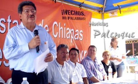El secretario de pesca reconoció el trabajo politico del gobernador Sabines.
