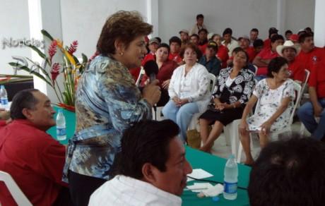 La diputada aseguró que el PRI llegará con fortaleza a la elección del 2009.