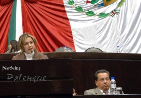 La diputada por Palenque en contra de la explotación de los indigenas chiapanecos.
