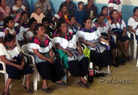 La mujeres indigenas demandaron equidad de genero y programas sociales.