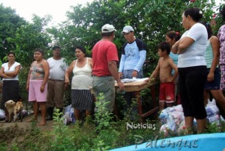 Quieren ver en Catazajá el apoyo federal que esta llegando a Tabasco.