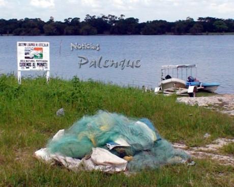 Sepesca implantó veda y decomisó redes a pescadores furtivos.