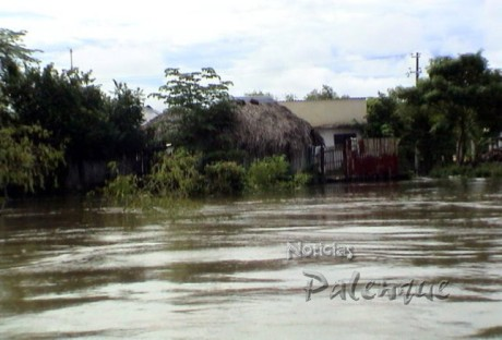 Son 700 familias en Catazajá las afectadas