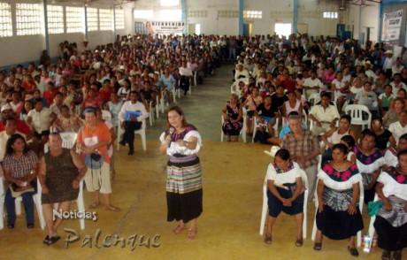 Yary pidio el apoyo a sus compañeros diputados para los indigenas de Chiapas.