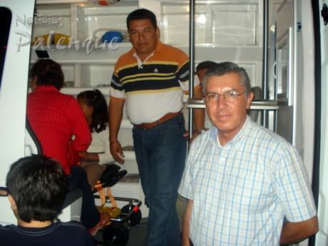 El presidente de Cruz Roja Chiapas entregó la ambulancia a Palenque.