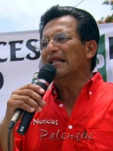 Álvarez Ferrer es repudiado por pobladores de su ejido