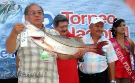 El torneo de Pesca Deportiva se fortalecerá con la instalación de un muelle.