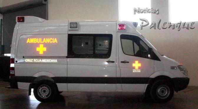 Fotos De Ambulancias Modernas >> Cruz Roja Palenque gana moderna ambulancia donada por la Presidencia.   Noticiaspalenque's Weblog
