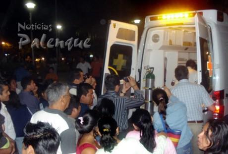 La ambulancia se encuentra totalmente equipada.