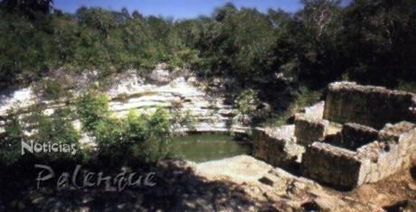 Las piezas fueron extraidas del Cenote Sagrado de Chichén-Itzá.