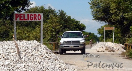 Reestablecido el acceso vehicular a Álvaro Obregón.