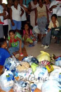 Toda la ayuda se entregó de manera equitativa.