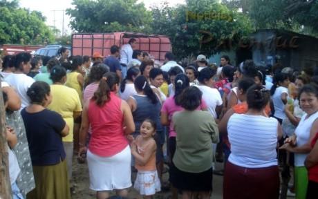 Punta Arenas, la primera comunidad que recibió la ayuda.
