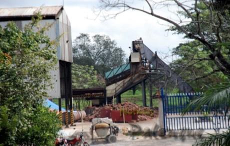 La explosión se produjo en una caldera de la fábrica aceitera.