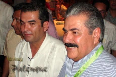 El dirigente nacional de los hoteleros con el secretario de turismo.