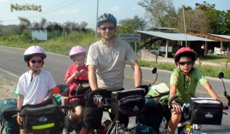 Frederic esta orgulloso de sus hijos y su espiritu de aventura.