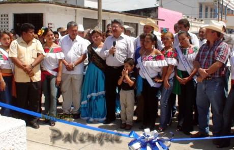 Morales Vázquez inauguró la feria de Catazajá.