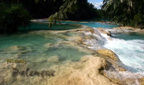 Continuan los incidentes de turistas con el EZ en Agua Azul.