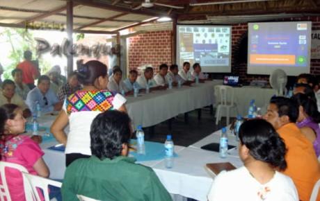 En Agua Azul presentaron el plan operativo de Vacaciones Seguras.