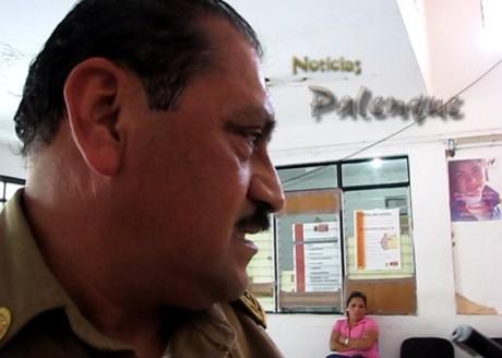 El delegado de tránsito fue llevado a certificar ante el legista.