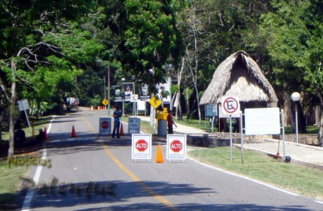 El INAH cerró el acceso a las ruinas de Palenque.