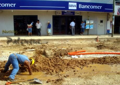Las mayores quejas por las obras del drenaje y agua potable.