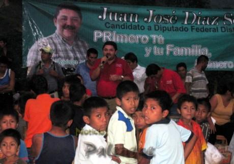 El abanderado priísta se pronunció por un México más justo.
