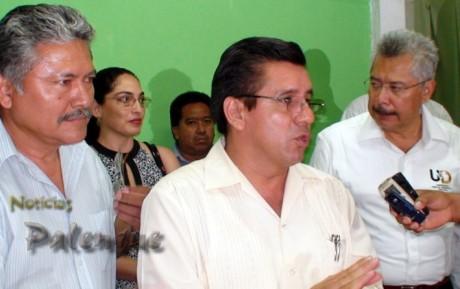El secretario de educación realizo en Palenque los importantes anuncios.