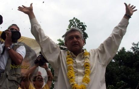 Lopez Obrador reunirá a casi 3 mil personas hoy en Palenque