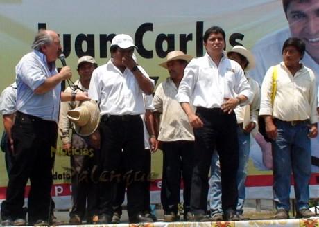 Rafael Ceballos comprometió el apoyo de los diputados.