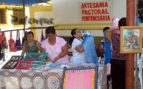 Trabajos de los reclusos en la Feria.