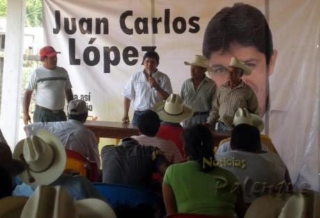 El candidato ofreció gestionar más recursos para el campo.