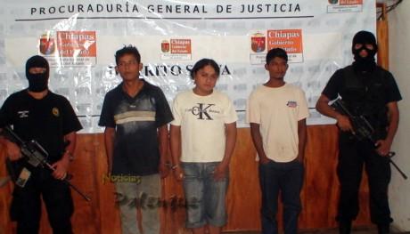 Los detenidos son integrantes de la banda de Los Perros.