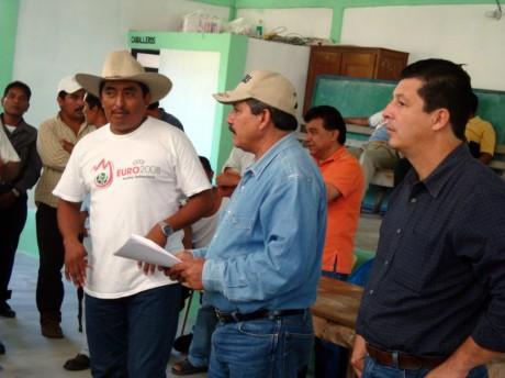 El edil de Ocosingo y el subsecretario no lograron cambiar la decisión.