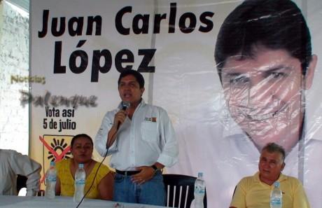 Juan Carlos Lòpez le apuesta a la compra y cooptación del voto.