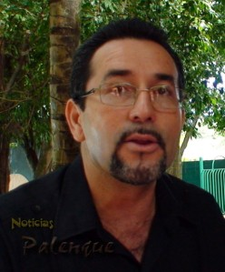 El regidor responsabilizó al edil de Palenque.