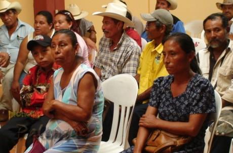 Entre los afectados hay productores indigenas.