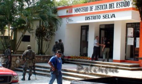 La fiscalía inició la busqueda de la ganadera secuestrada.