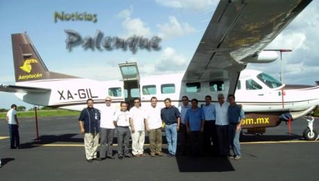El secretario de turismo y directivos de la empresa realizaron el anuncio.