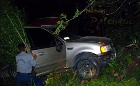 El vehículo era conducido irresponsablemente por un ebrio.