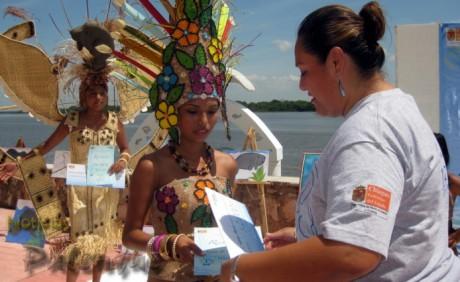 Teresa Guzmán obtuvo el primer lugar en vestido estilizado.
