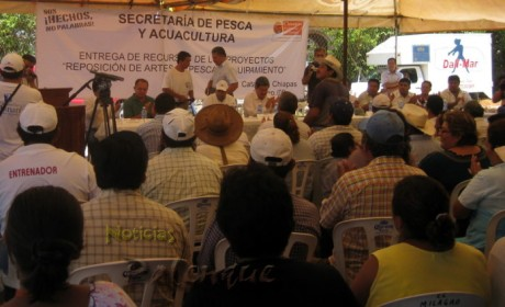 Los productores de la región reconocieron el apoyo estatal.