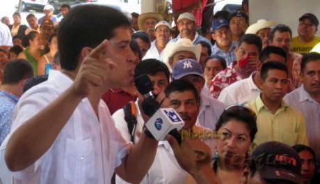 El diputado federal Juan Carlos López instó a trabajar en unidad.