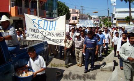 El movimiento del Valle de Santo Domingo sigue creciendo.