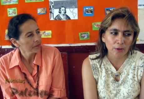 Las organizadoras buscan mejorar las condiciones de la escuela.