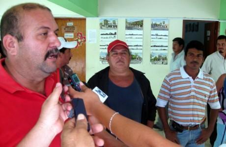 El dirigente cetemista denuncio publicamente la actitud del edil.